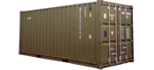 dry vans, standard iso shipping containers